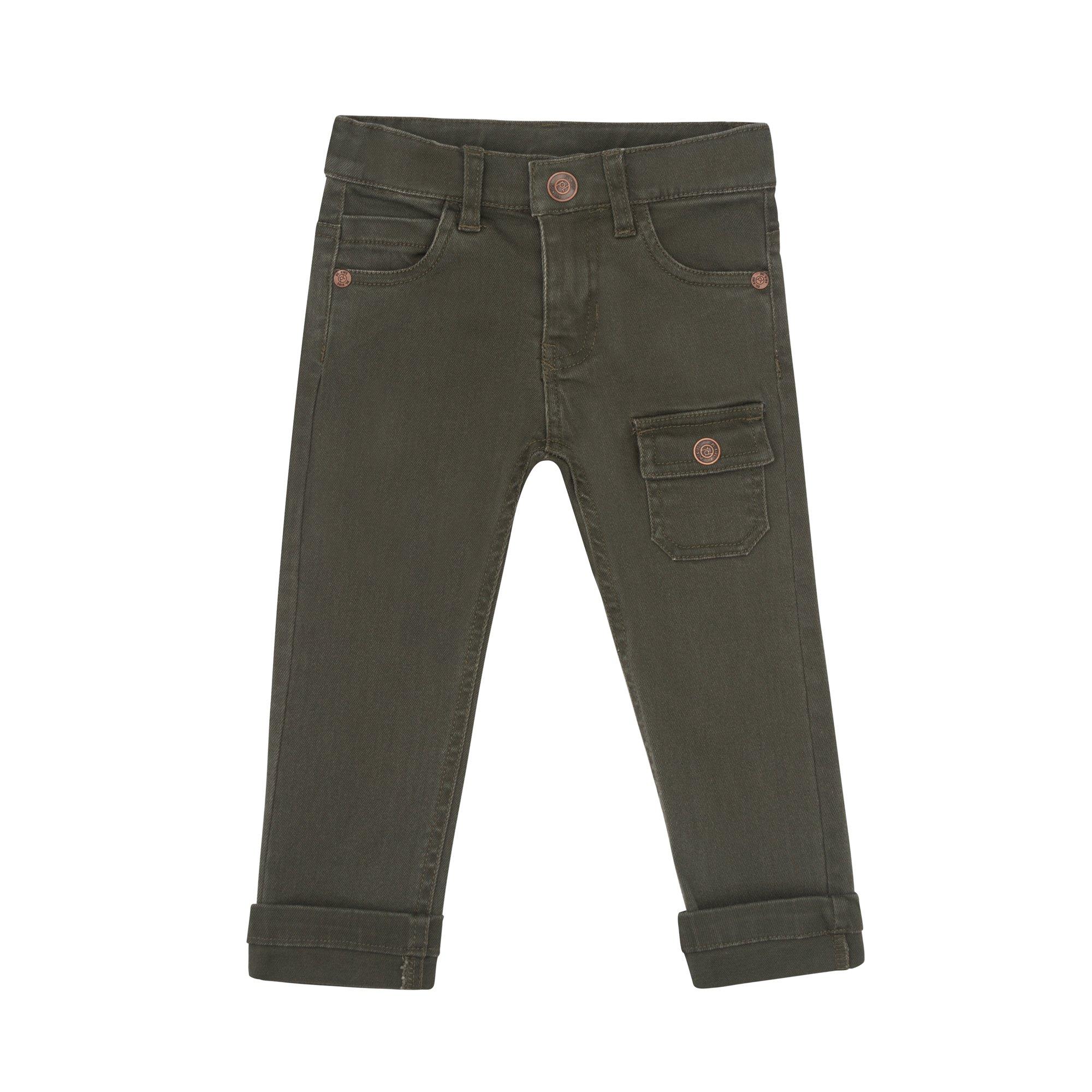 Petit Lem Big Boys' Pants Stylish and Fun, Khaki, 2