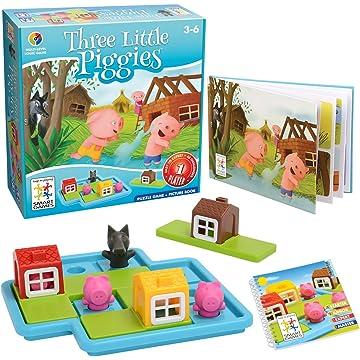 best selling SmartGames Three Little Piggies