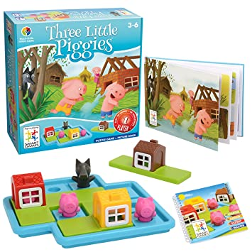 Image result for 3 Little Piggies smart puzzle