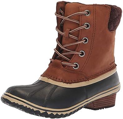 716beeb40ad0 SOREL Women s Slimpack Lace II Snow Boot Burro