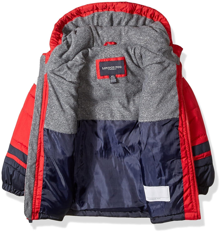 339d38aafb2b Amazon.com  London Fog Boys  2-Piece Snow Pant   Jacket Snowsuit ...