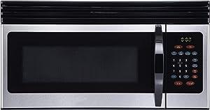 Black+Decker 1.6-Cu.Ft Over-the-Range Microwave - Stainless Steel (EM044KIN-P)