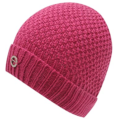 64fd85213d9 Slazenger Womens Ladies Golf Knit Beanie Hat Warm Winter Cap Headwear Sports