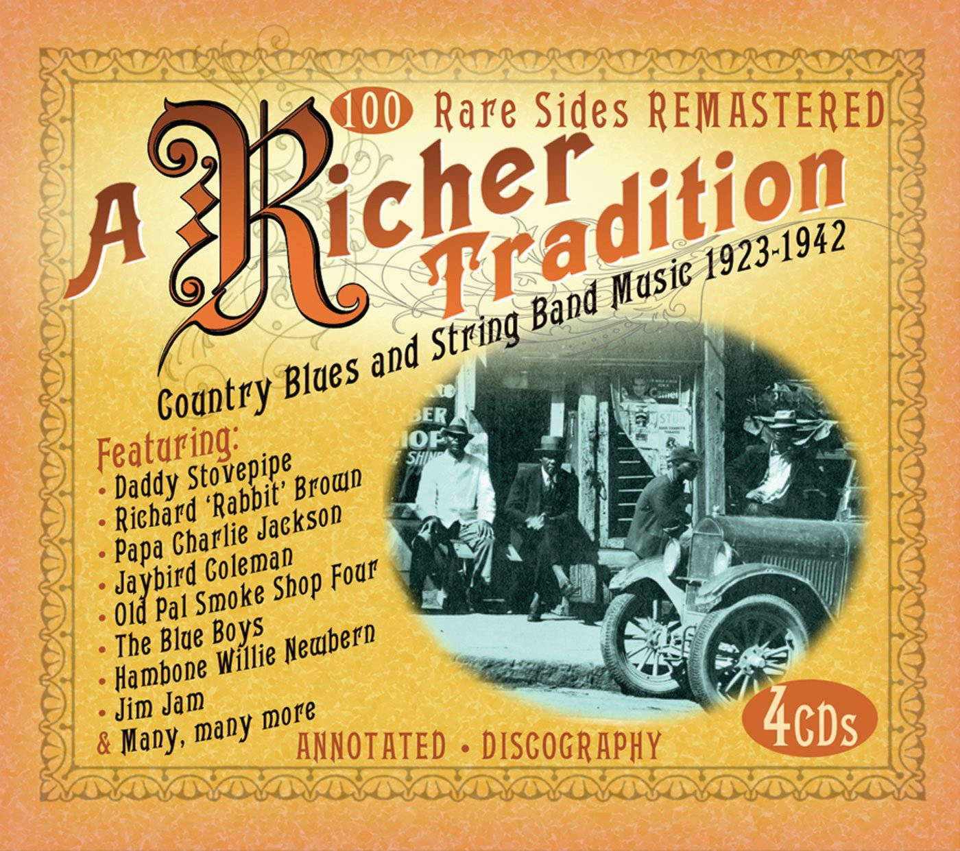 A Richer Tradition: Country Blues and String Band Music 1923-1942