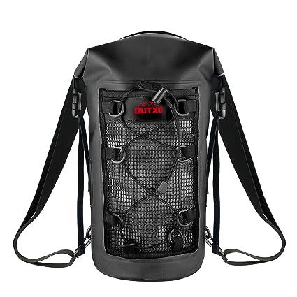 0fe25905ddb1 OUTXE IP67 Waterproof Dry Bag Backpack 10L 100% Watertight PVC-Free