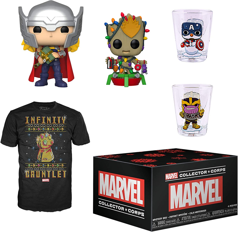 X-Men Theme Funko Marvel Collector Corps Subscription Box January 2019