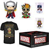 Funko Marvel Collector Corps Subscription Box, Marvel Holiday Theme, November 2019, 3XL T-Shirt