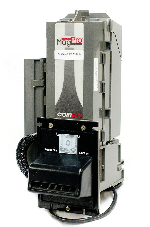 Coinco Mag Pro MAG50B MAG30B Bill Acceptor Validator coin op - New $5 - Rebuilt