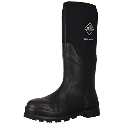 Muck Boot Men's Chore Cool Steel Toe Rain Boot | Industrial & Construction Boots