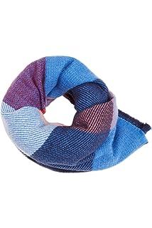 ESPRIT Web-Schal in XL-Format blau NEU