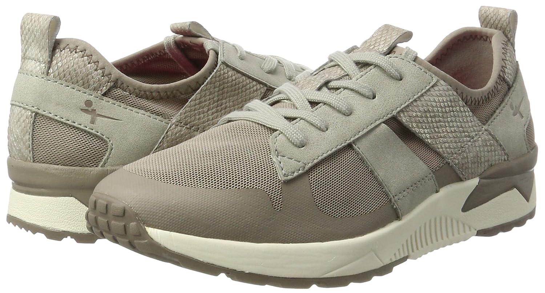 Tamaris Sneakers 23701 Damen Sneakers Tamaris Braun (Pepper Comb 301) 8f94d3