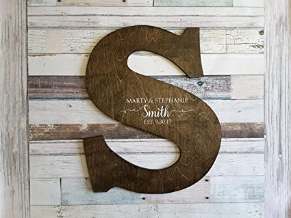 letter guest book distressed letter sign wood letters wedding guest book alternative guest book sign wood
