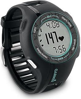Garmin Forerunner 210 - Reloj con pulsómetro y GPS (cargador de corriente AC, unidad USB para…
