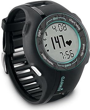 ofertas exclusivas original mejor calificado 100% genuino Garmin Forerunner 210 - Reloj con pulsómetro y GPS (Cargador de Corriente  AC, Unidad USB para Datos), Color Negro