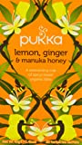 Pukka Organic Lemon Ginger and Manuka 20 Tea Bags (Pack of 4)