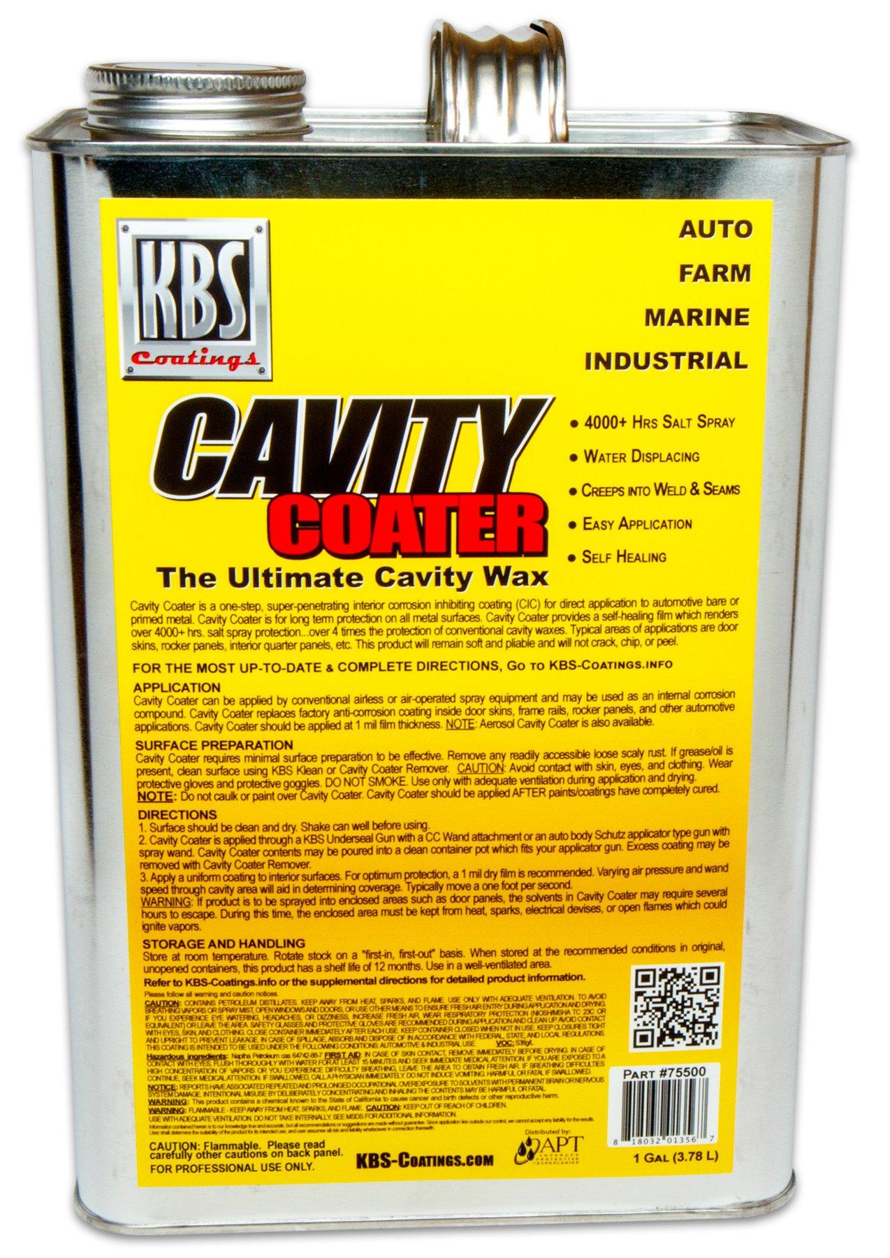 KBS Coatings 75500 Cavity Coater - 1 Gallon