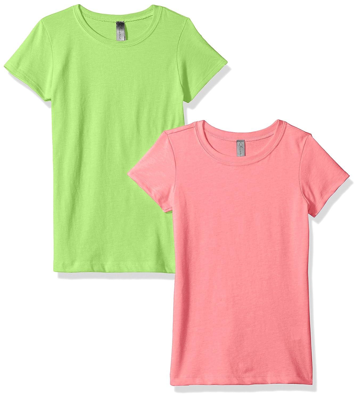 399d00b11f2759 Amazon.com  Clementine Girls  Big Everyday T-Shirts Crew 2-Pack  Clothing