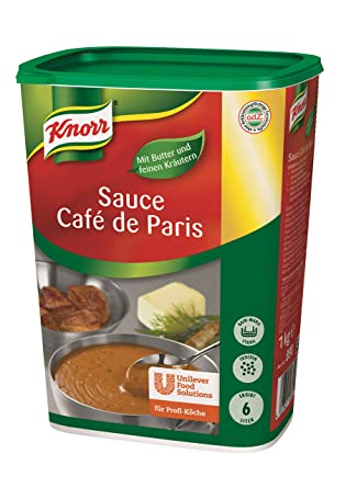 Knorr Salsa Cafe De Paris 1 Kg Amazon Com Grocery Gourmet Food
