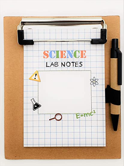 Amazon Com Science Party Favors Clipboard Notepad 12 Pack Mad