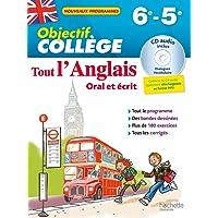 Objectif Collège - Tout l'Anglais 6e-5e - Nouveau programme 2016