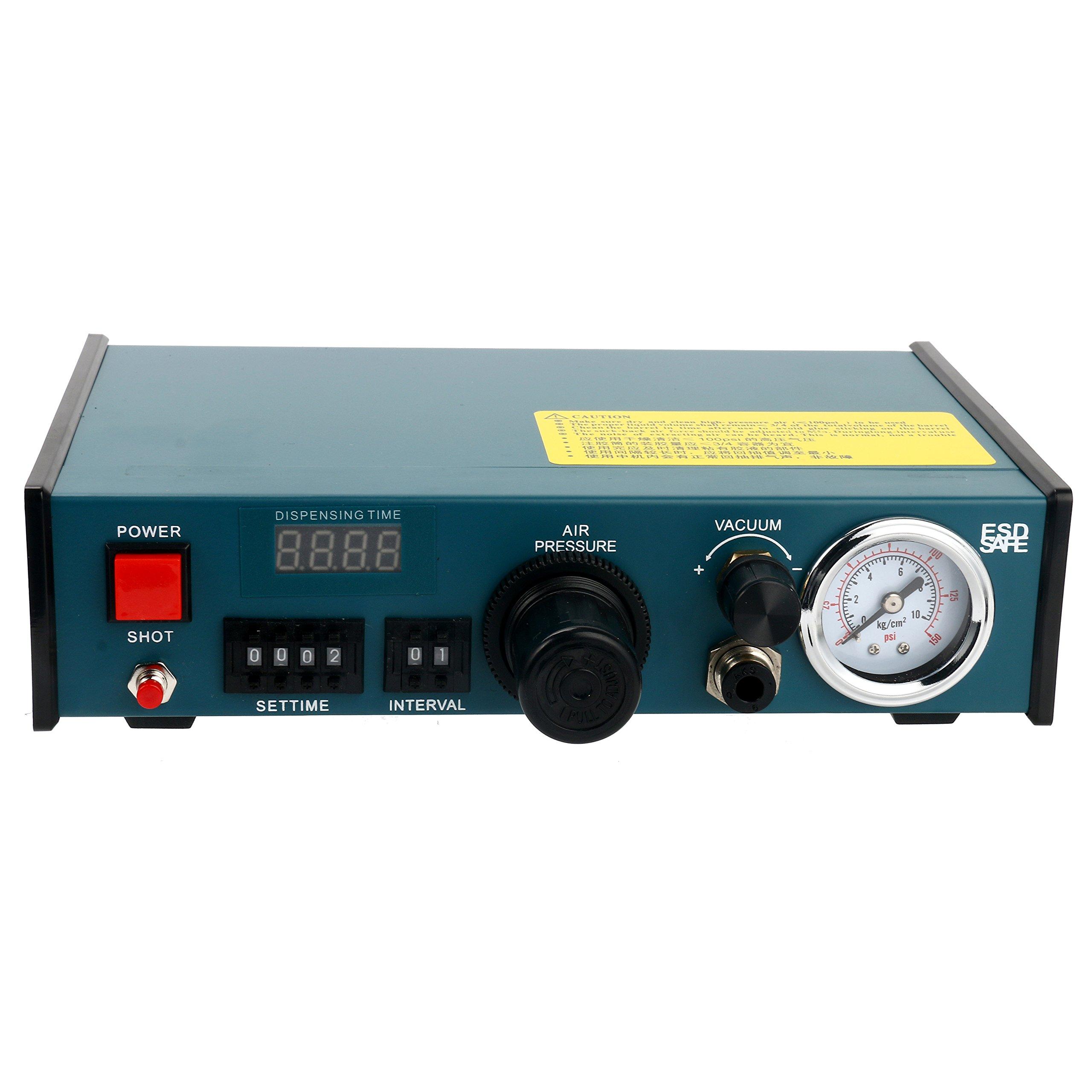 Digital Display Auto Glue Dispenser Solder Paste Liquid Controller Dropper 983A by YaeCCC (Image #6)