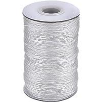 Xutong - Cordón trenzado de color blanco