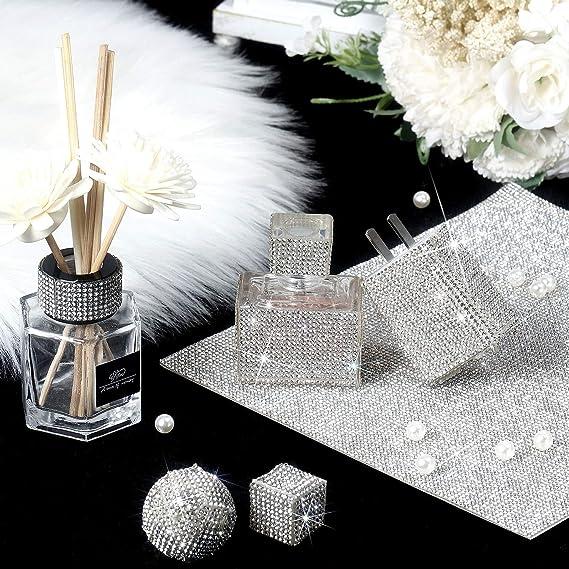 Partyzubeh/ör Kuchen Hochzeit Vasen DIY Dekoration rose 18000 St/ück glitzernde Strass-Diamant-Aufkleber f/ür Auto