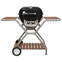 Outdoorchef Montreux 570 G Grillstation XXL schwarz Basis Garten 2-flammig ✔ Rollen ✔ Deckel ✔ Seitentisch links ✔ rund ✔ rollbar ✔ stehend grillen ✔ Grillen mit Gas ✔ mit Station ✔ mit Rädern