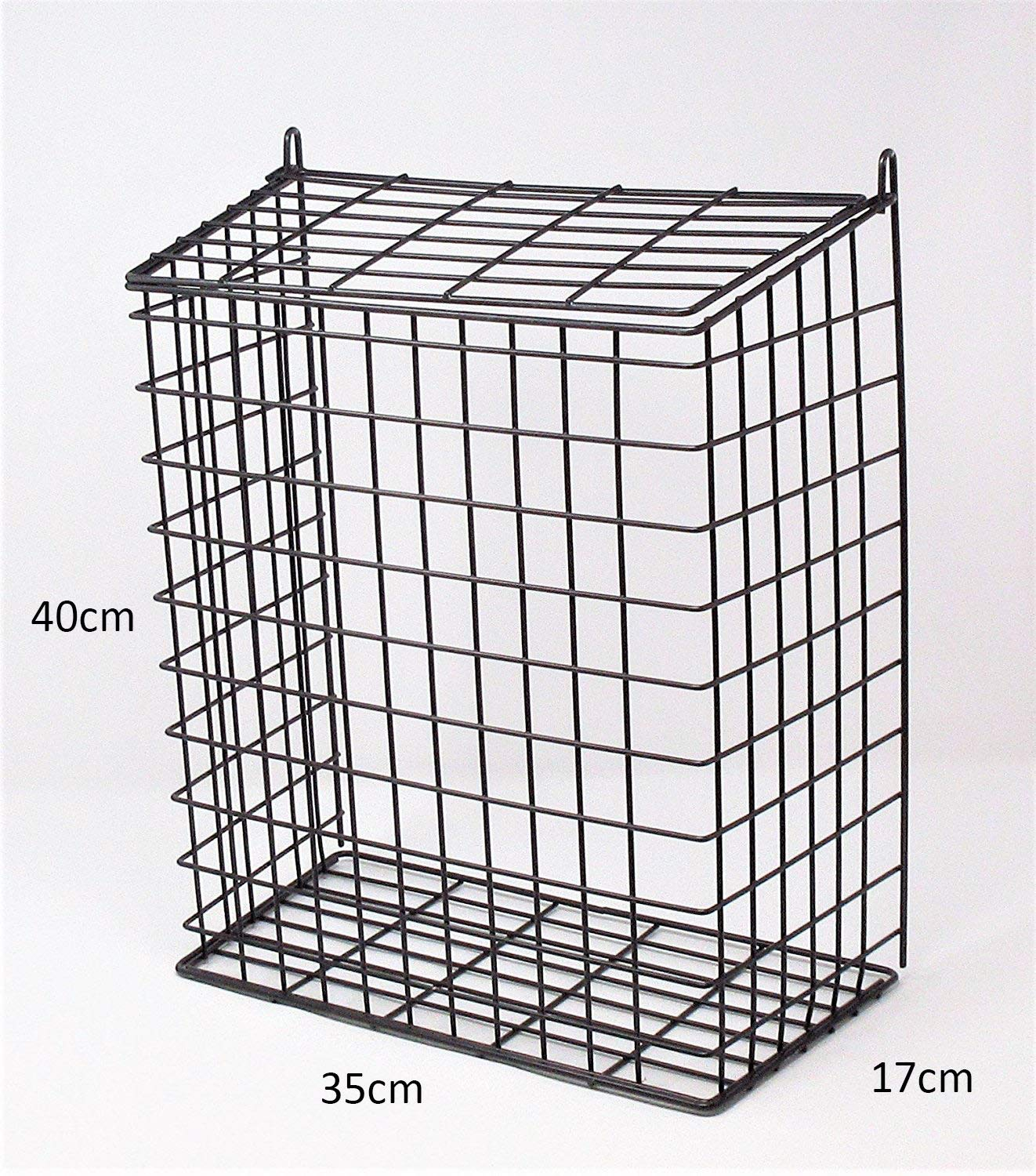 DWD /Ã/'/Â/® Large Black Letter Box Door Cage Guard Protect Mail Post Dog Cat Proof Fits all doors /& Letter Box size of 30cm wide by DWD