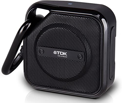 TDK A12 TREK Micro NFC Bluetooth Portable Mini Wireless Outdoor Speaker - Black
