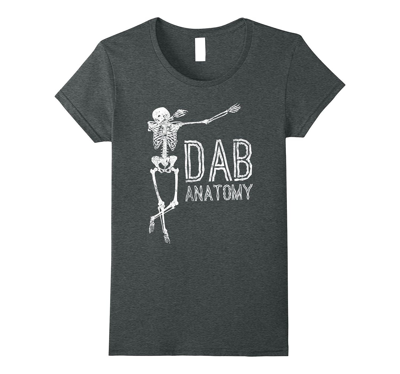 Dab Anatomy T-Shirt – Dabbing Skeleton Halloween Shirt