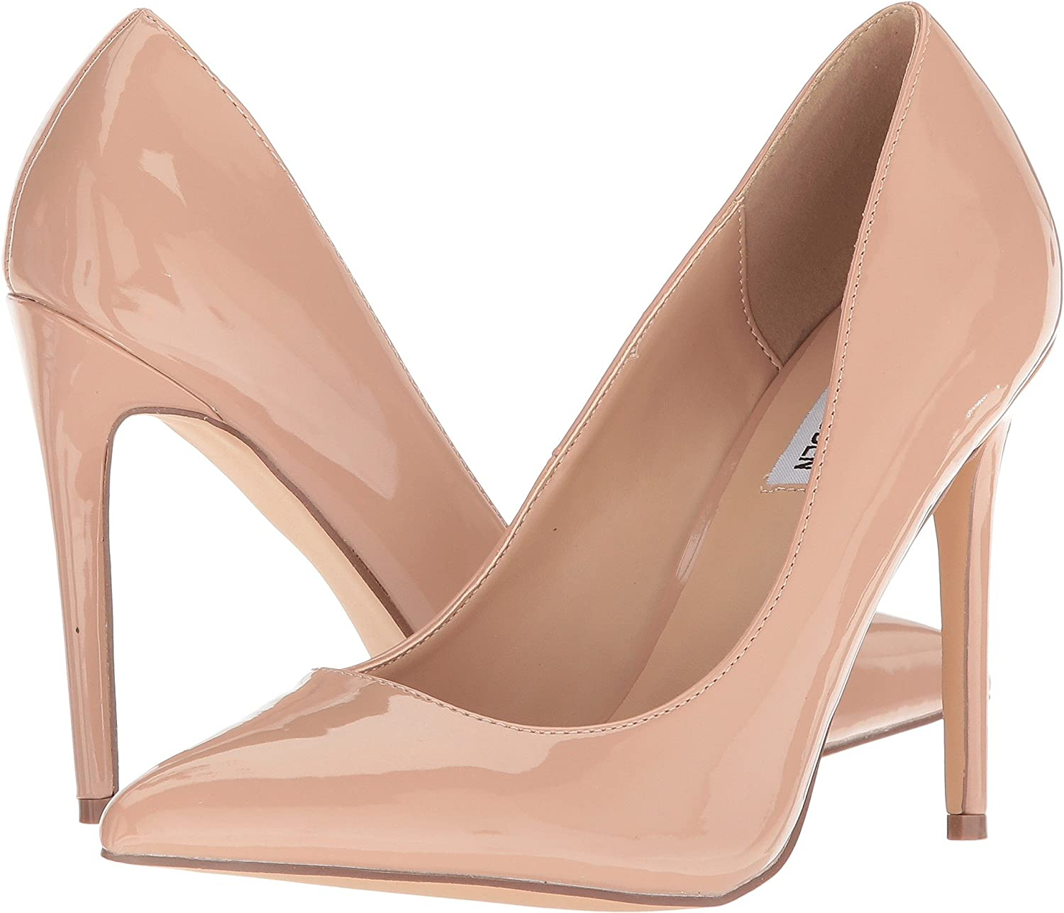 Steve Madden Womens Orkid Leather Pointed Toe Classic Pumps B07B9HMZL8 6.5 M US|Blush Patent