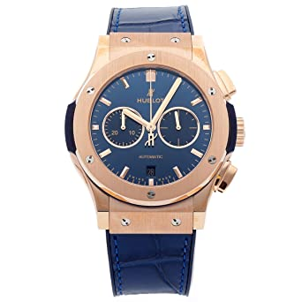 Image Unavailable. Image not available for. Color  Hublot Classic Fusion  Mechanical (Automatic) Blue Dial Mens Watch ... 998c9e259c