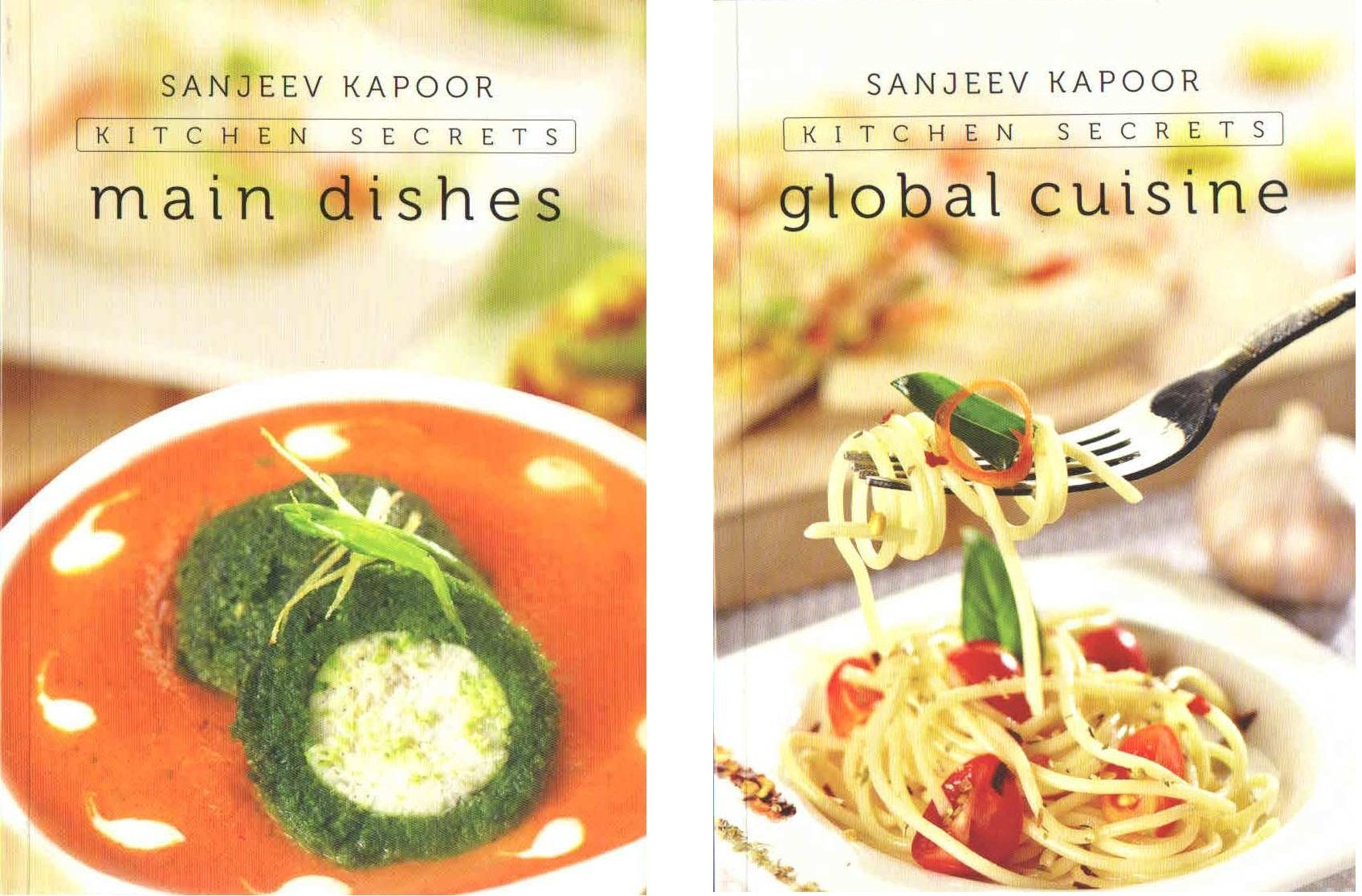 Buy SANJEEV KAPPOR KITCHEN SECRETS-SET OF FIVE BOOKS (FIRST EDITION ...