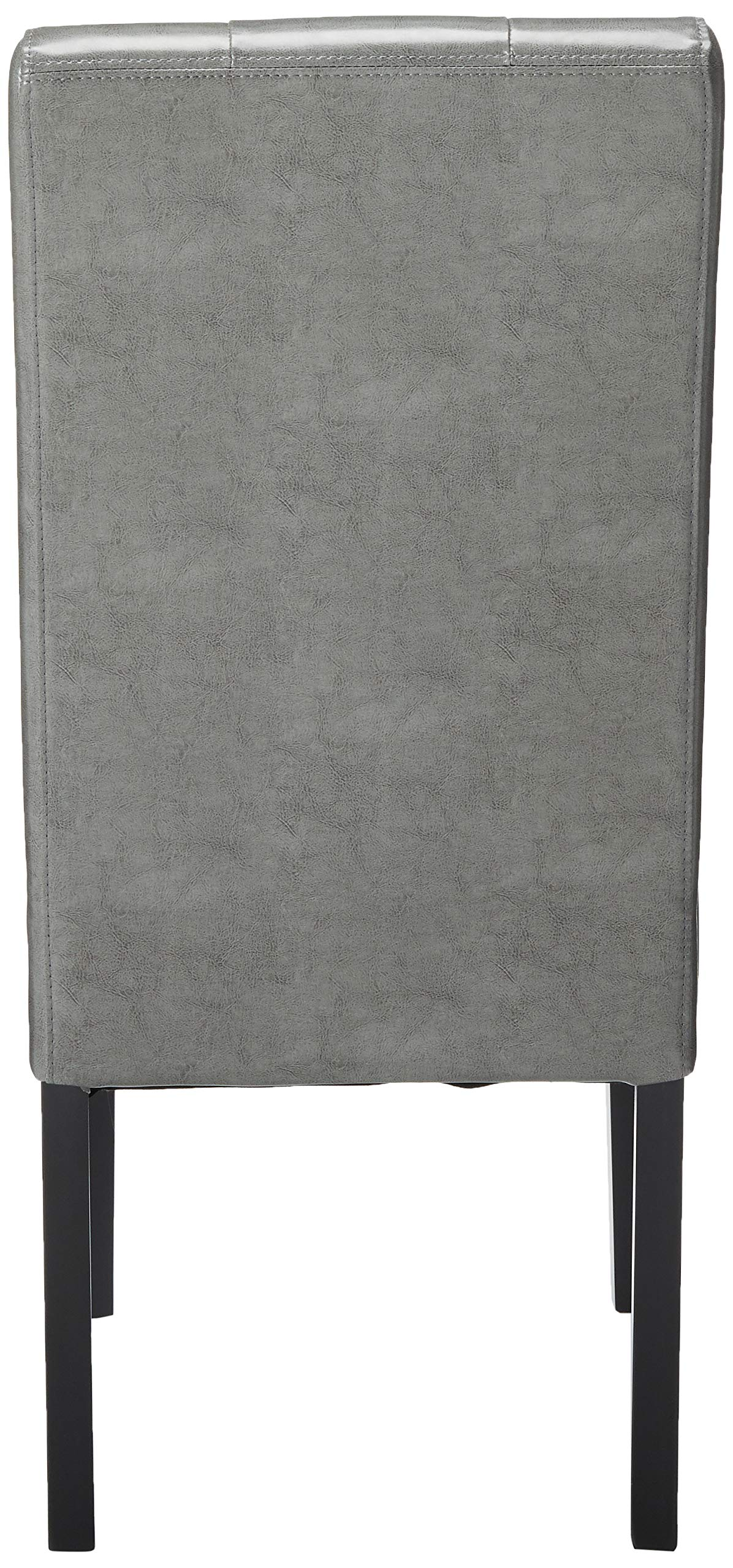 Christopher Knight Home 214519 Alexander Grey Leather Dining Chairs (Set of 2), by Christopher Knight Home (Image #3)