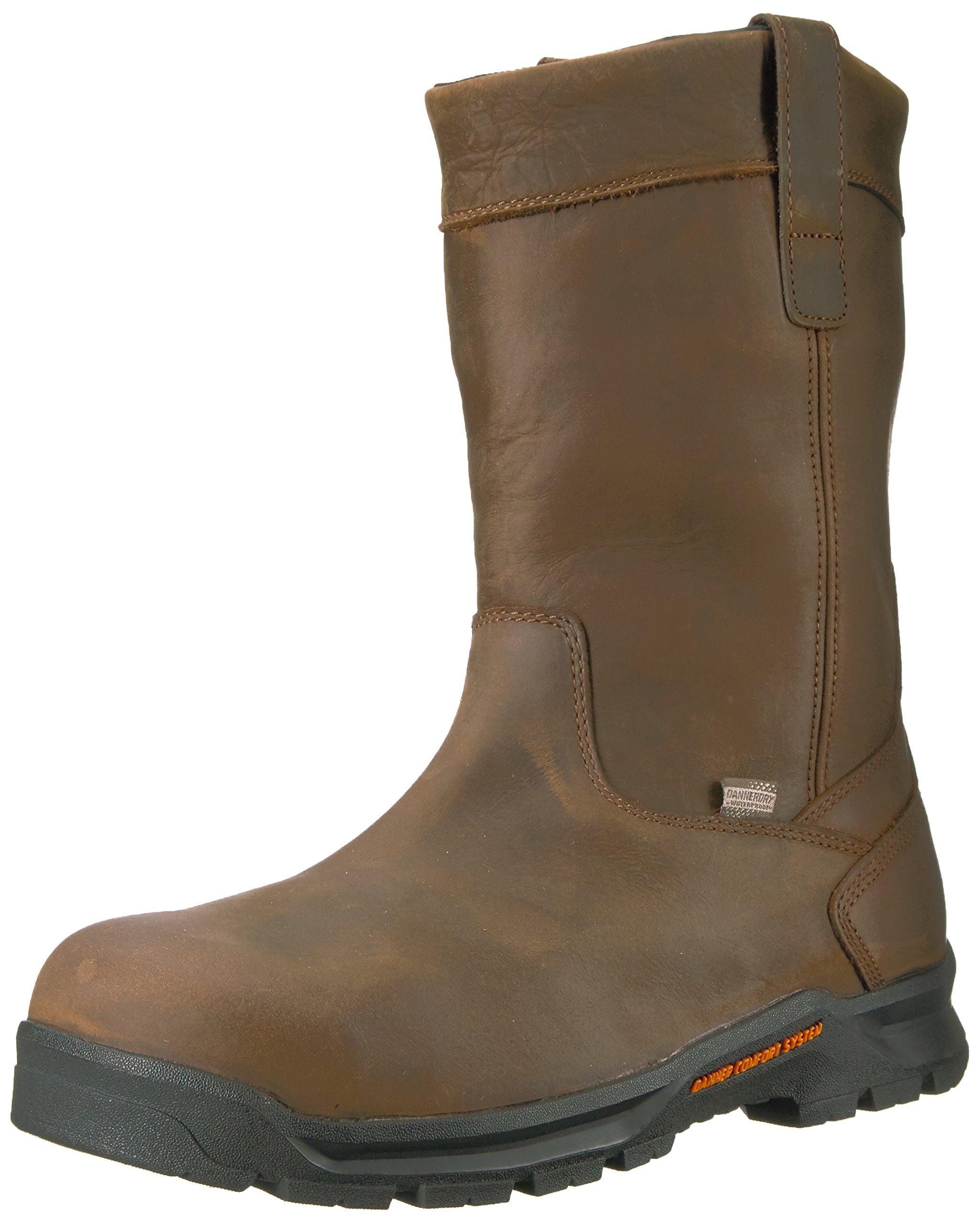 Danner Men's Crafter Wellington NMT Work Boot, Brown, 12 D US
