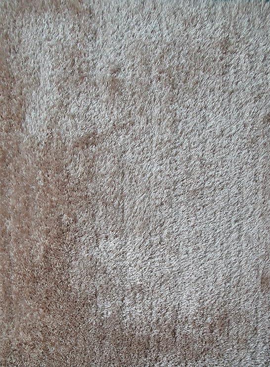 Amazon.com: RUGADDICTION Auténtico y Lujoso Color Beige Sólido Shag Gruesa Alfombra Pila, Tamaño 60