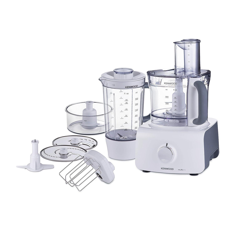 Robot de cocina Kenwood FDP613WH Multipro Tazón Blender 1000W 13L ...