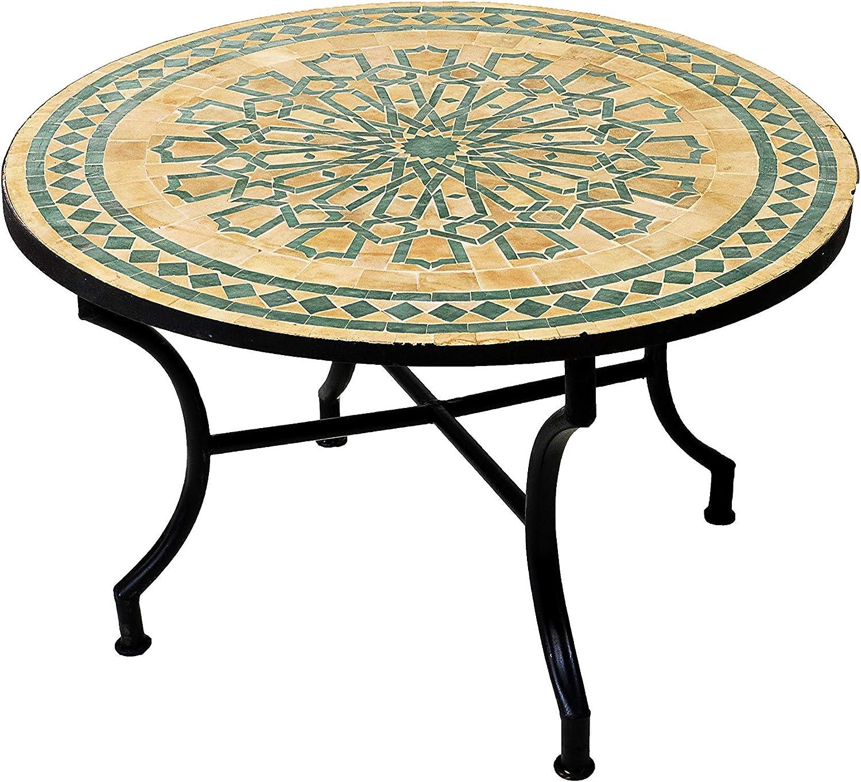 TecTake 800571 Tavolino da Balcone, Piano del Tavolo in
