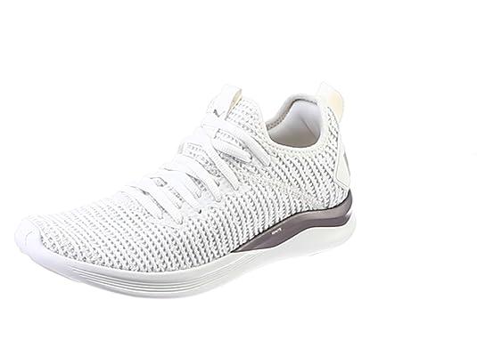 Details zu PUMA Schuhe beqeueme Laufschuhe Damen Sportschuhe IGNITE Flash evoKNIT Beige