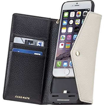 hot sales 0a461 8ebf2 Charging Wristlet Case for Apple iPhone 6/6s in Black/Sand