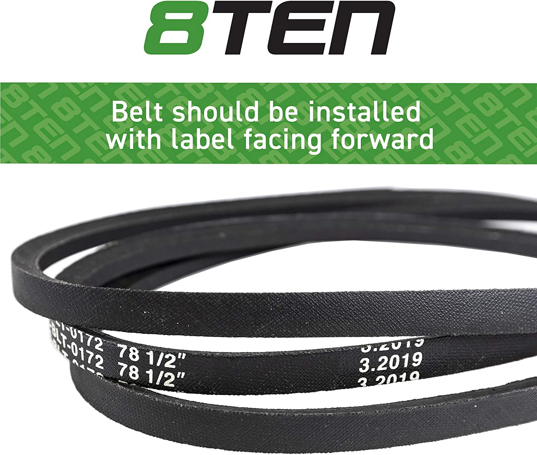AYP 131264 78.5 Length Stens 265-136 OEM Replacement Belt