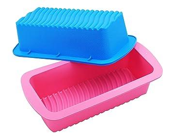 Amazon.com: PONECA Molde de silicona redondo para tartas ...