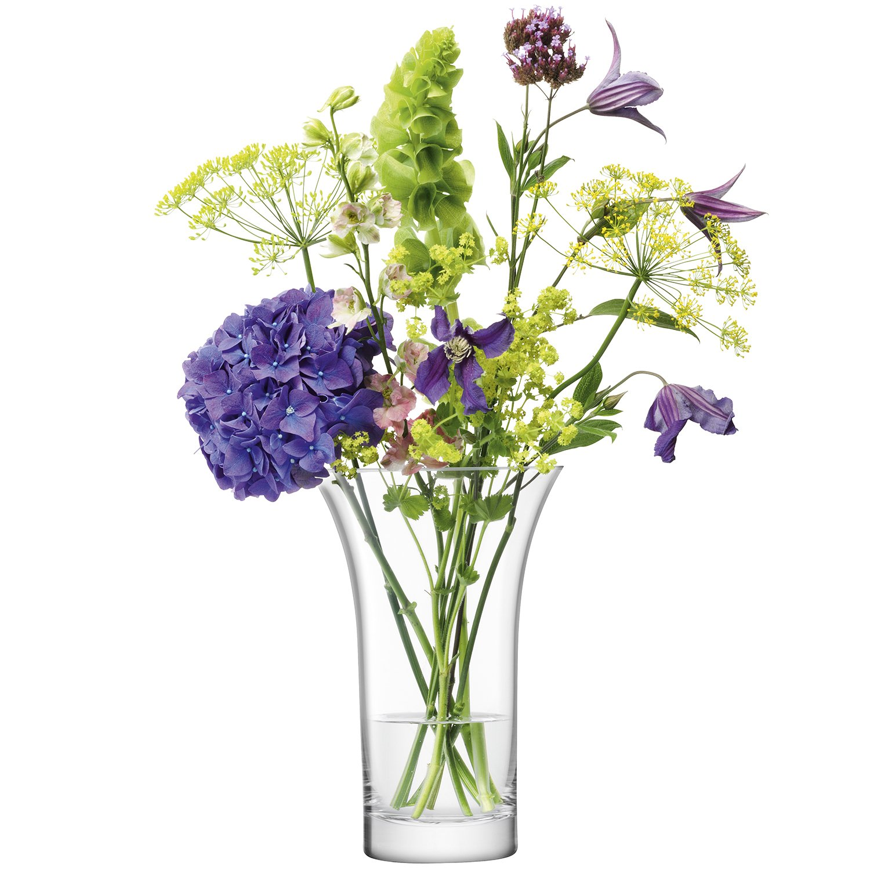 LSA フラワーベース花器 Clear W19.5xD19.5xH26 LPT05 B074TPBVZM W19.5xD19.5xH26  W19.5xD19.5xH26