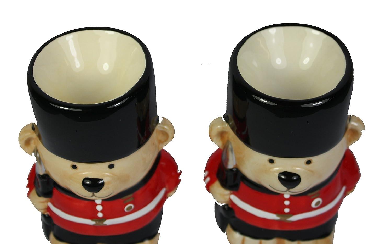 Guardsman Bear Egg Cups