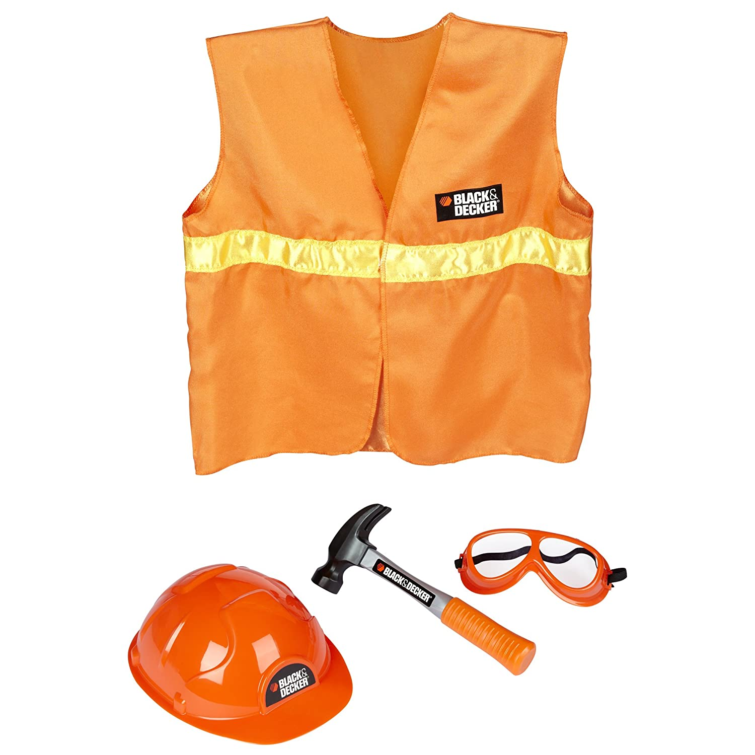 BLACK+DECKER Jr. Dress Up and Play Safety Set Black & Decker Junior 50678