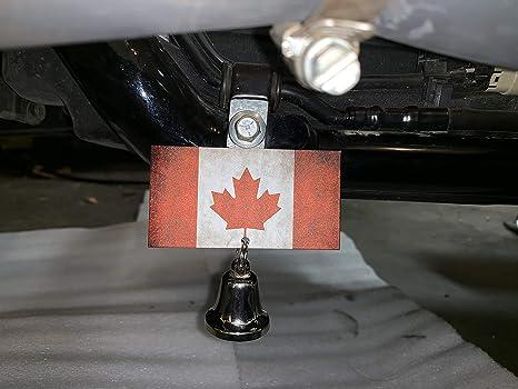 Amazon.com: Perchero rústico de la bandera canadiense para ...