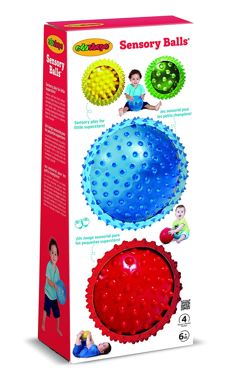 1f29ab056 Amazon.com   Edushape Sensory Ball Mega Pack