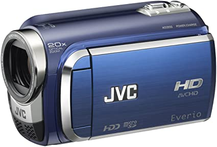 Amazon.com : JVC Everio GZ-HD300 60GB High-Def Camcorder (Blue