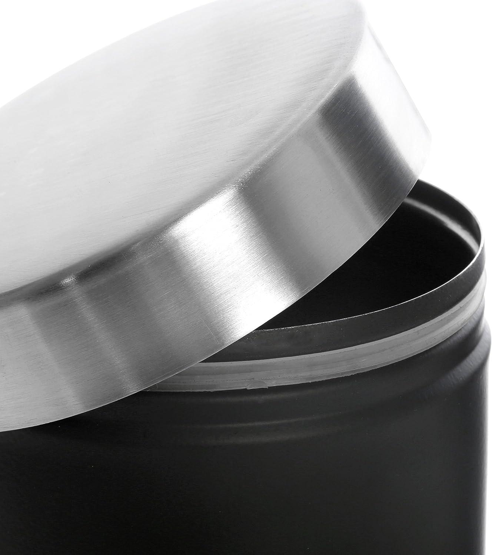 Premier Housewares Black Tea, Coffee & Sugar Canisters